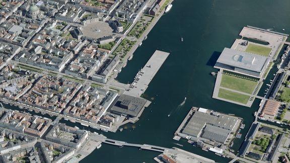 1,3 millioner skrå fotos dækker Danmark
