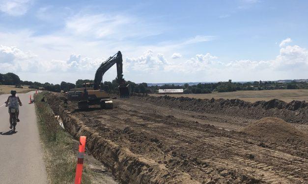4.000 ton gasser siver ud fra nedgravede fjernvarmerør