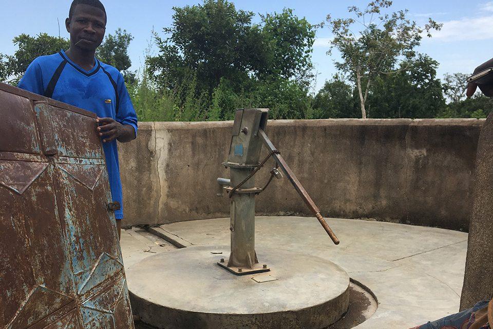 Ghana vand får vist vejen frem