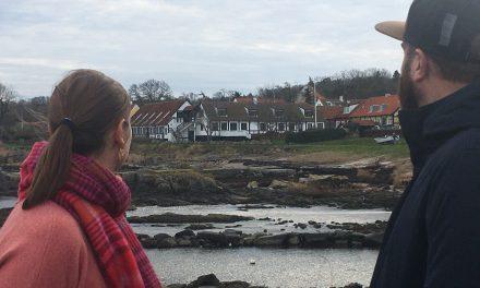 Et stenkast fra Østersøen